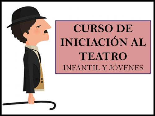 CURSO DE INICIACIÓN AL TEATRO JOVENES
