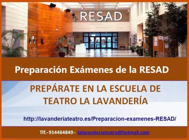 CARTEL RESAD portada RESAD 2019